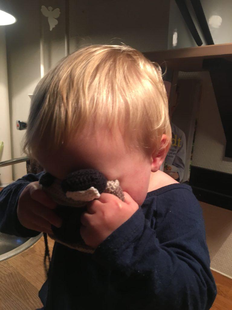 hæklet kamera
